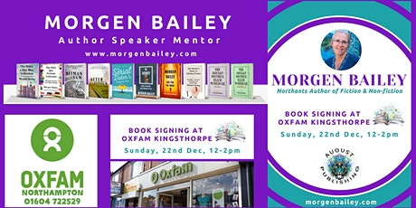 Book Signing Northants Author Morgen Bailey tickets