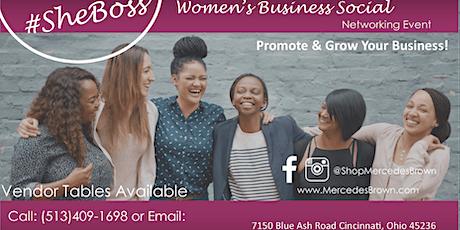Women's Business Social tickets