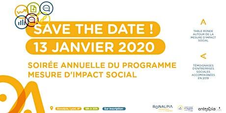 Soirée annuelle du programme Mesure d'impact social billets