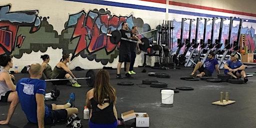 Crossfit Manatee Cohen Weightlifting Seminar