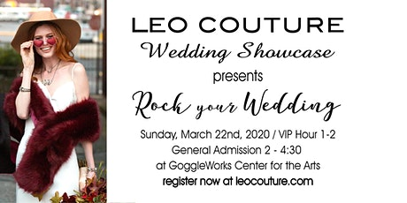 LEO Couture Wedding Showcase tickets