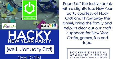 Hacky New Year Party tickets