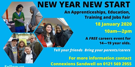 New Year New Start Careers Event tickets