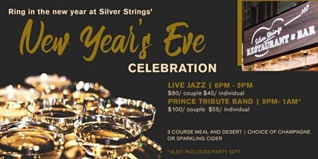 New Year's Eve at  Silver Strings Restaurant and Bar tickets