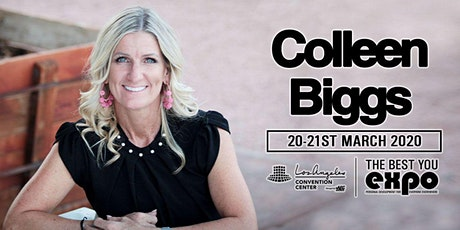 Colleen Biggs at The Best You EXPO 2020, Los Angeles tickets