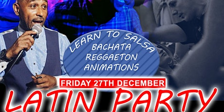 End of Year Latin Dance Party | Salsa, Bachata, Reggaeton | Food Available tickets