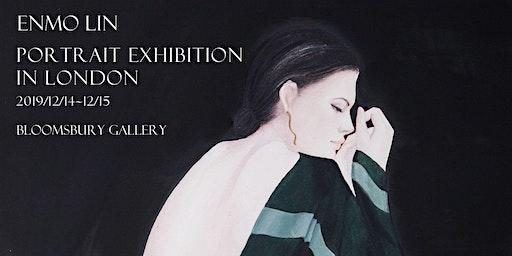 Enmo Lin's portrait exhibition in London