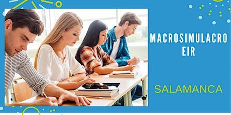 MACROSIMULACRO EIR -  SALAMANCA entradas