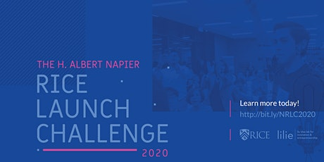 2020 H. Albert Napier Rice Launch Challenge - Startup Competition tickets