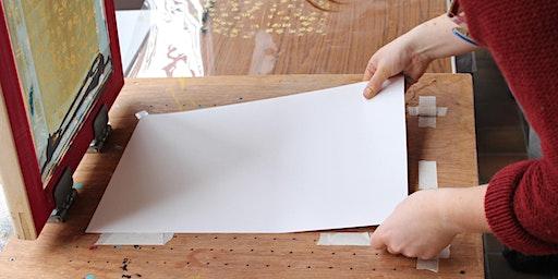Gweithdy Argraffu Cracer Nadolig /  Print a Christmas Cracker Workshop