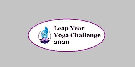 Holistic Education Foundation Leap Year Yoga Challenge 2020 tickets