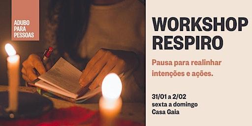 WORKSHOP RESPIRO