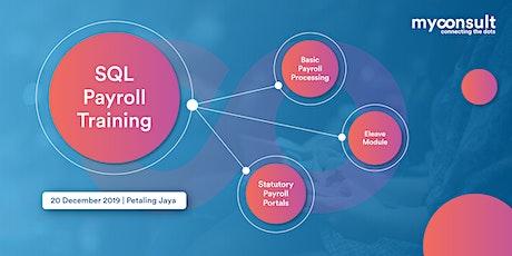 SQL Payroll - Training tickets