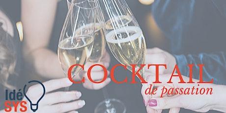 cocktail de passation IdéSYS billets
