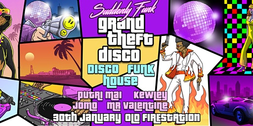 Suddenly Funk: Grand Theft Disco