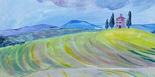 Paint and Sip Tuscany Fields 7 Apr