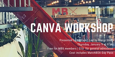 A Canva Workshop presented by MBXam tickets