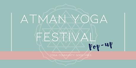 Atman Yoga Festival: Pop-up tickets