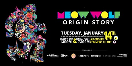 Tech+Art: Special Movie Screening of Meow Wolf: Origin Story tickets
