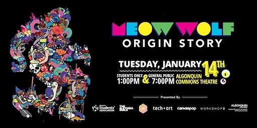 Tech+Art: Special Movie Screening of Meow Wolf: Origin Story