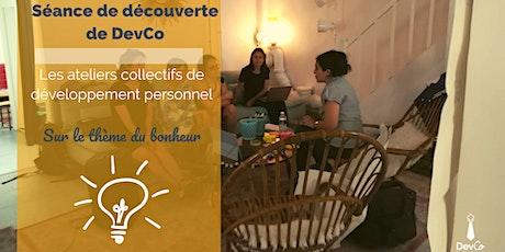 Séance de découverte – Club d'inspiration sur du développement personnel billets