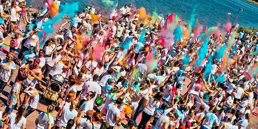 Northampton Fun Colour Rush 2020