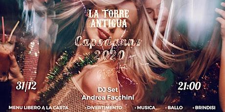 Festa di Capodanno 2020 a La Torre Antigua biglietti