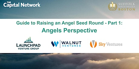Guide to Raising an Angel Seed Round - Part 1: Angels Perspective tickets