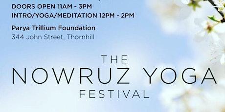 Pre Nowruz Yoga Festival tickets