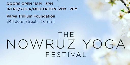 Pre Nowruz Yoga Festival