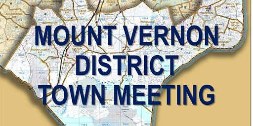 33rd Annual Mount Vernon District Town Meeting