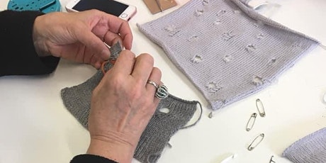 Invisible Mending for Knitwear tickets