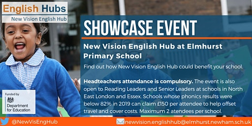 Showcase Event at New Vision English Hub