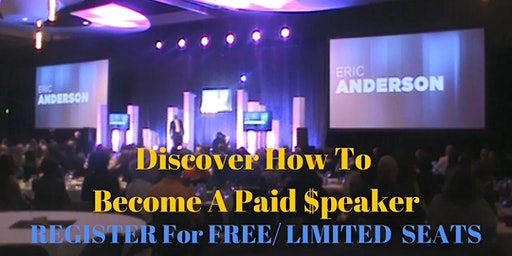 Become A Paid Motivational Speaker And Share Your Message - Details Below