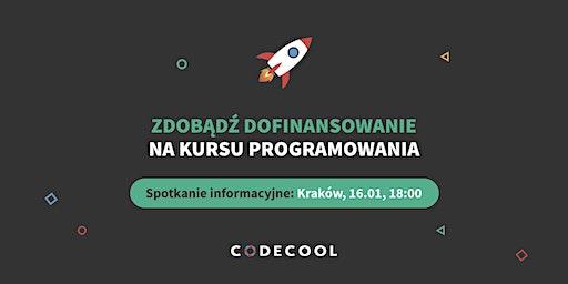 Dofinansowanie na kursu programowania | Spotkanie informacyjne