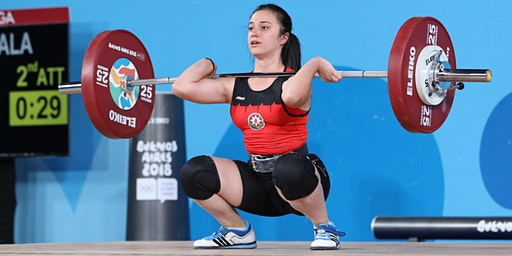 Anthony Pompino Olympic Weightlifting Clinic