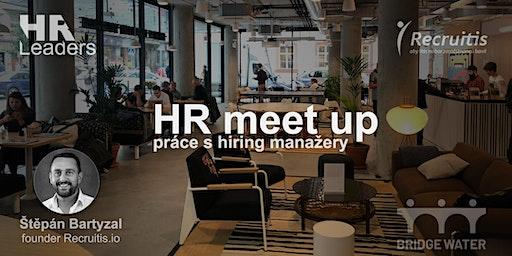 HR meetup na téma výsledky průzkumu práce s hiring manažery