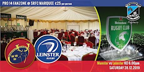 Hospitality SAT 28.12.19 Munster Rugby V Leinster KO 6pm tickets