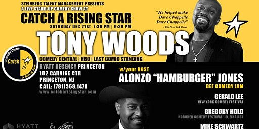 Tony Woods at Catch A Rising Star