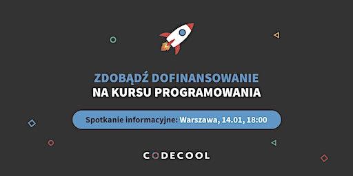 Dofinansowanie na kurs programowania | Spotkanie informacyjne