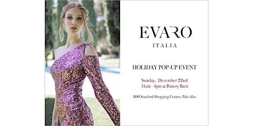 Evaro Italia Holiday PopUp event
