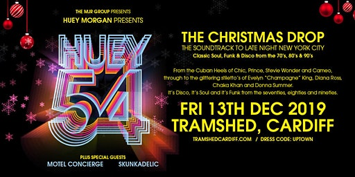 Huey Morgan Presents Huey 54: The Christmas Drop (Tramshed, Cardiff)