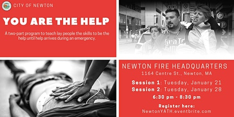 You Are The Help for Newton residents tickets