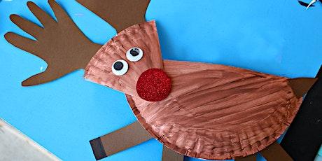 Make a Paper Plate Reindeer tickets