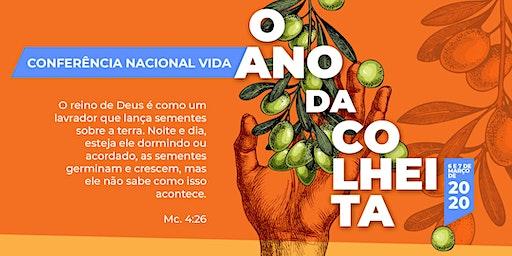 Conferência Nacional Vida 2020 - Ano da colheita