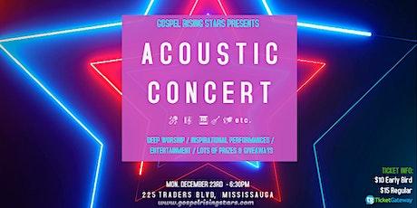 Acoustic Concert - Gospel Rising Stars tickets