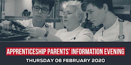 Apprenticeship Parents' Information Evening tickets