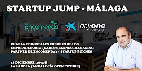 Startup Jump Málaga - Encomenda Smart Capital & Caixabank DayOne entradas