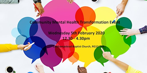 Information Event: East Berkshire Community Mental Health Transformation