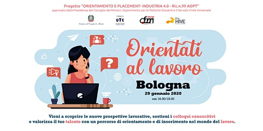 Orientati al lavoro | Talent Meeting BOLOGNA